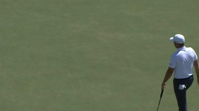 Luke List's lengthy birdie putt at Houston Open