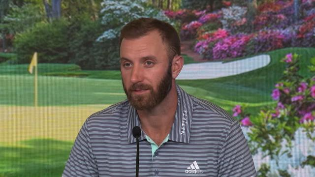 Dustin Johnson reflects on needing to win vs. wanting to win