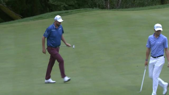 Marc Leishman sinks lengthy birdie putt at THE CJ CUP