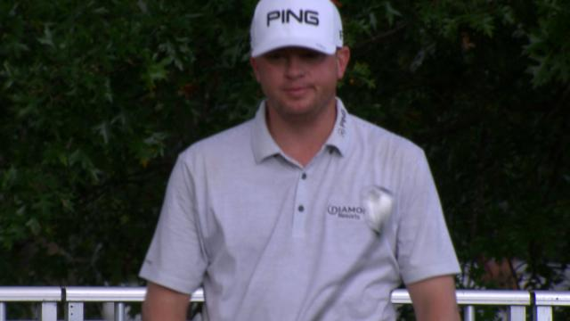Today's Top Plays: Nate Lashley's eagle chip shot for the Shot of the Day