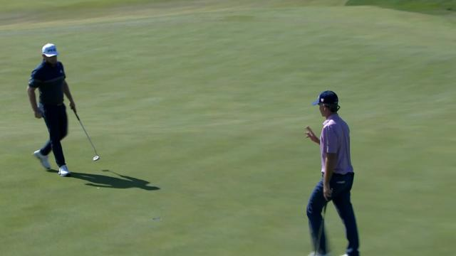 Kevin Streelman rolls in for birdie at THE CJ CUP