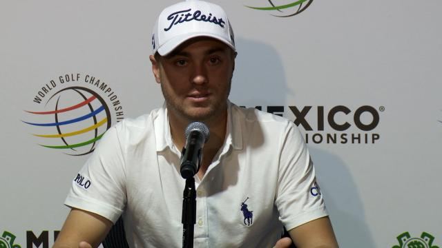 Justin Thomas comments before WGC-Mexico