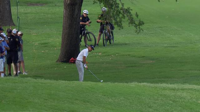 Today's Top Plays: Brian Harman's grandstand approach for Shot of the Day