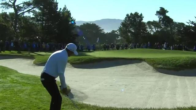 Jim Herman's short game yields birdie at AT&T Pebble Beach