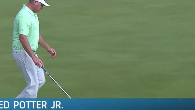 Ted Potter Jr. sinks lengthy birdie putt at Puerto Rico