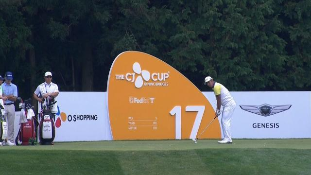 Today's Top Plays: Hideki Matsuyama's tight tee shot is Shot of the Day