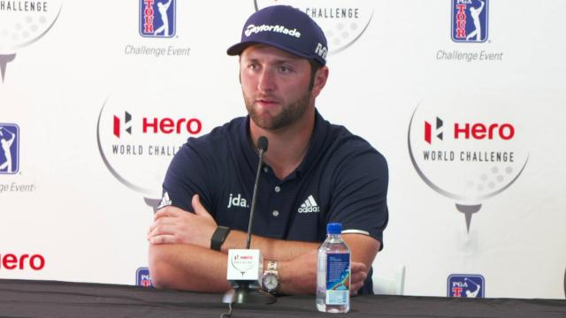 Jon Rahm on his 2018 success at Hero