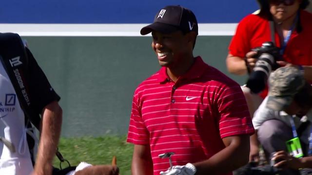 Tiger Woods' best flop shots