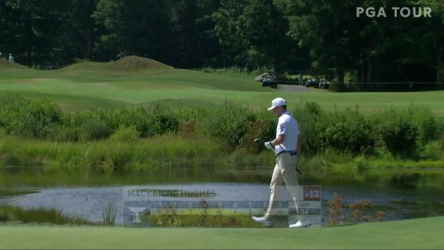 PGA TOUR | Today's Top Plays: Mackenzie Hughes' eagle shot for the Shot of the Day