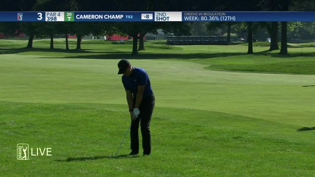Cameron Champ birdies No. 3 in Round 4 at Rocket Mortgage
