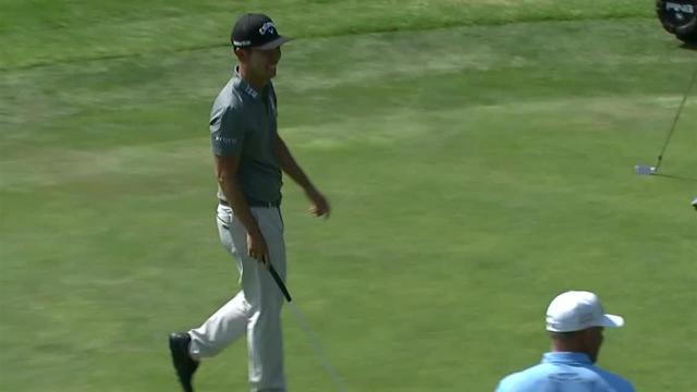 Kevin Na sinks lengthy birdie putt at WGC-Mexico
