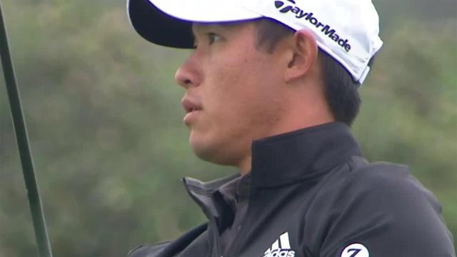 Collin Morikawa's impressive second leads to birdie at Farmers