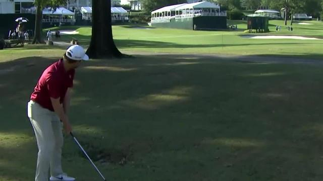 George Mcneill's incredible approach sets up 3-foot birdie at Sanderson Farms