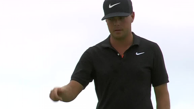 Keith Mitchell rolls in 15-foot birdie putt at AT&T Byron Nelson
