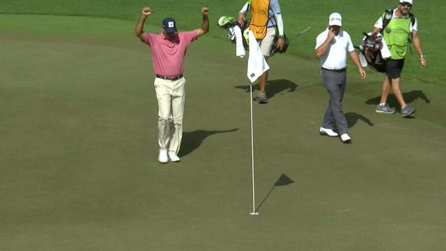 Today's Top Plays: Matt Kuchar's 151-yard ace for the Shot of the Day