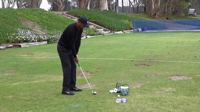 Tiger Woods flushes shots at Farmers