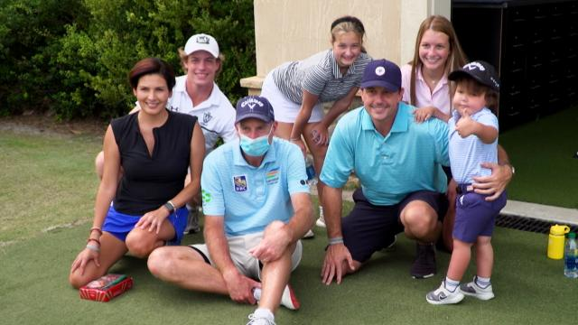 3-year-old cancer patient and family surprised with trip to TPC Sawgrass