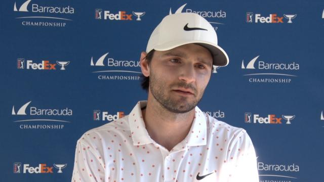 Kyle Stanley interview after Round 2 of Barracuda