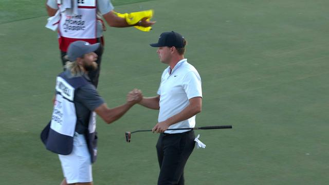 Today's Top Plays: Keith Mitchell's victory-clinching birdie at No. 18 is the Shot of the Day