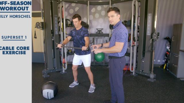 Billy Horschel's off-season workout