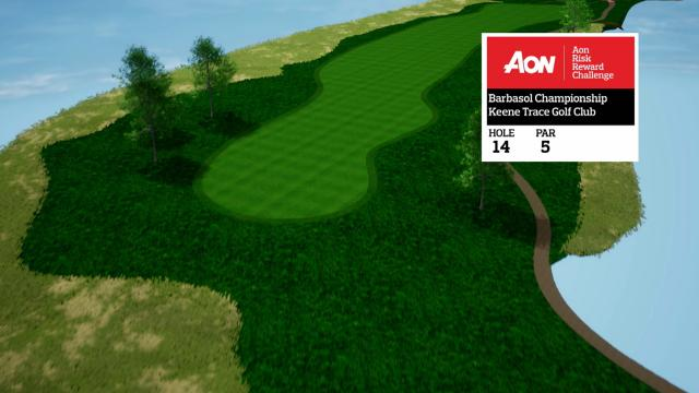 Barbasol Championship hole overview at Keene Trace Golf Club