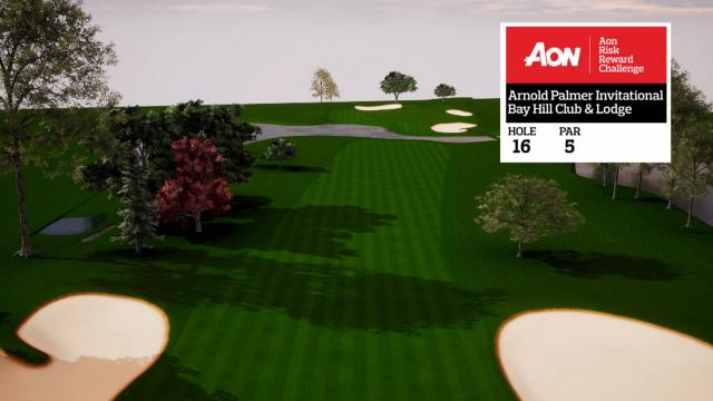 Arnold Palmer Invitational hole overview at Bay Hill Club & Lodge