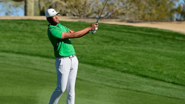 Tony Finau's Round 3 highlights from Waste Management