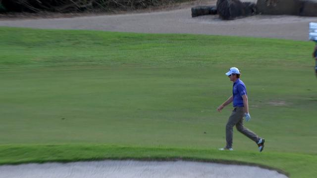 Today's Top Plays: Roberto Castro's eagle for Shot of the Day