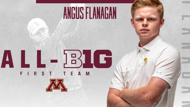 Minnesota alumni Angus Flanagan returns to the 3M Open