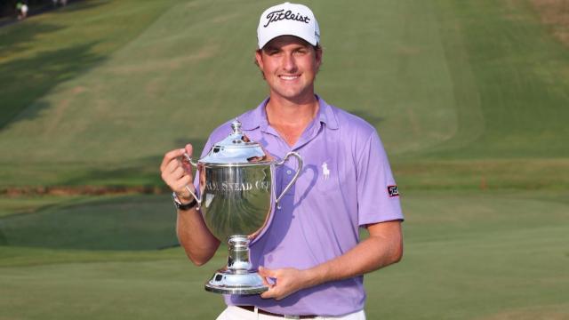 Webb Simpson wins 2011 Wyndham Championship