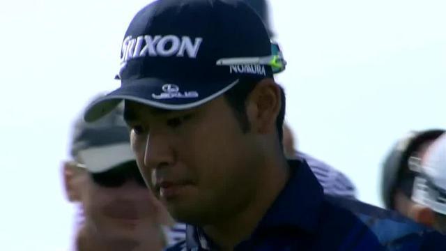 Hideki Matsuyama's dialed in tee-shot at 3M