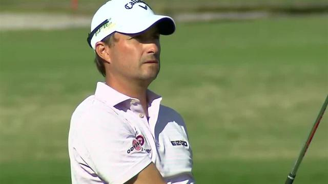 Kevin Kisner uses nice approach to set up birdie at The RSM Classic