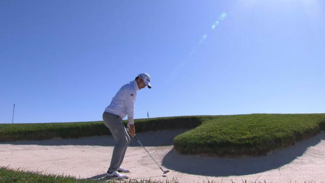 Today's Top Plays: Nick Taylor's bunker hole-out for eagle leads Shots of the Week
