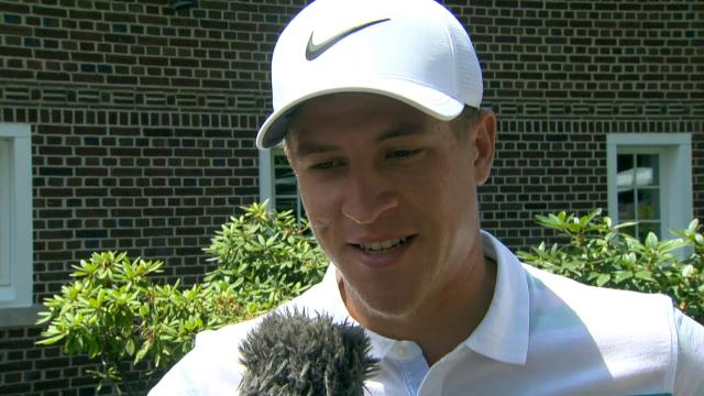 Cameron Champ's interview after Round 2 of Rocket Mortgage