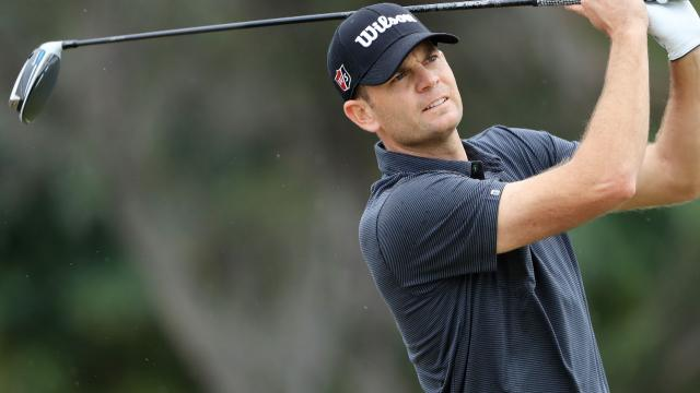 Brendan Steele leads by three after 54 holes at the Sony Open