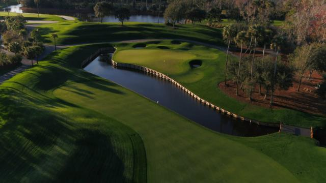 Pete Dye's vision for No. 4 at TPC Sawgrass during THE PLAYERS
