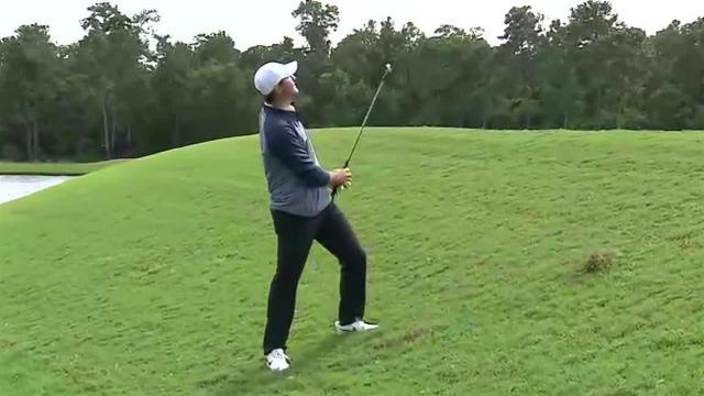 Scottie Scheffler shows touch around the green to card birdie at Houston Open