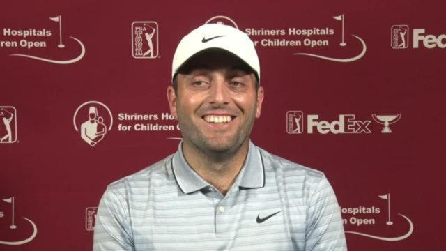 Francesco Molinari on the state of his game before Shriners