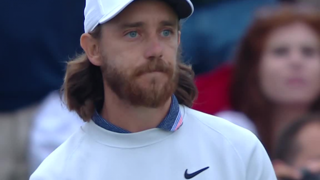 Tommy Fleetwood leads the field off the tee at THE PLAYERS Championship 2019