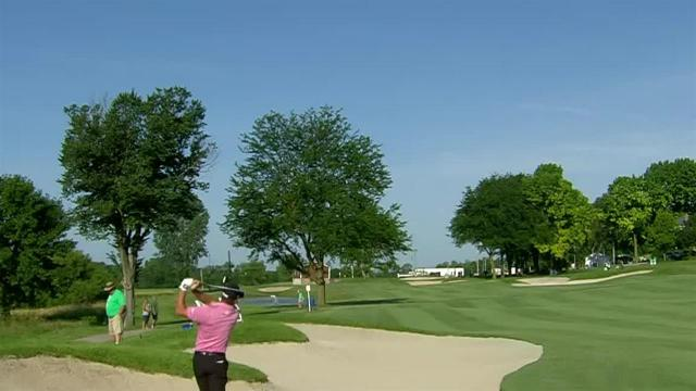 Charles Howell III bends impressive second to set up birdie at John Deere