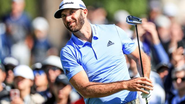 Dustin Johnson's Round 2 highlights from Genesis