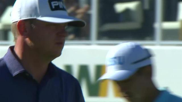 Nate Lashley's impressive tee shot leads to birdie at Waste Management