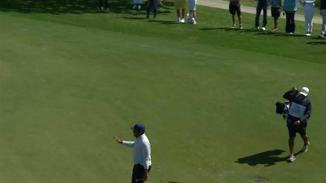 Jhonattan Vegas' incredible birdie putt at Honda