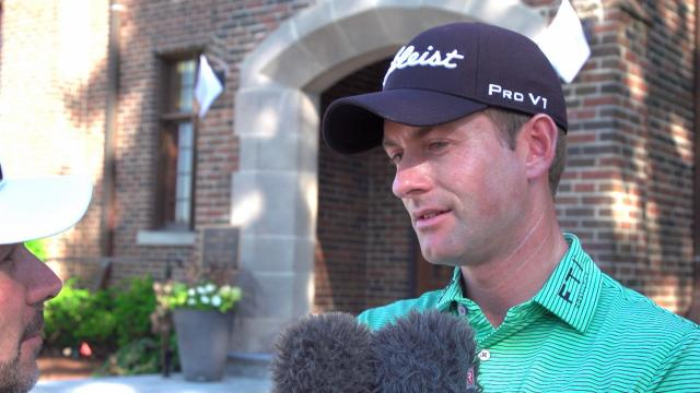 Webb Simpson interview after Round 2 of RBC Canadian