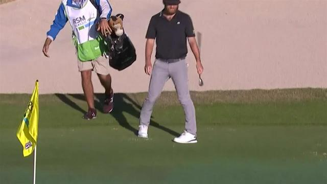Tyler McCumber's 43-foot birdie putt at The RSM Classic