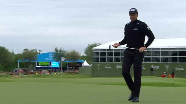 Henrik Stenson sinks 29-footer for birdie at AT&T Byron Nelson