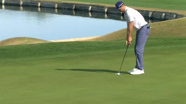 Brendon Todd drains 34-foot birdie putt at The American Express