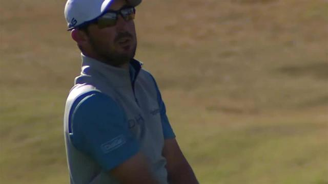 Andrew Landry's impressive second sets up tap-in birdie at The American Express