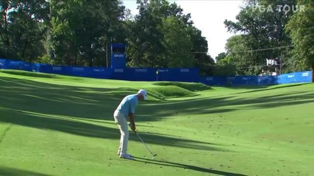 PGA TOUR | Today's Top Plays: Jim Herman's 128-yard approach for the Shot of the Day