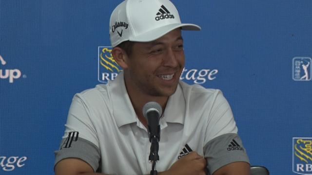 Xander Schauffele back and better before RBC Heritage